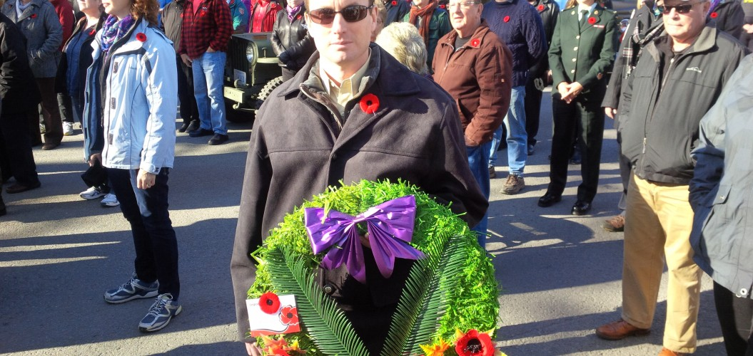Remembrance Day 2014 Wreath