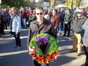 2014 The Royal Canadian Legion Remembrance Day Service – Perth