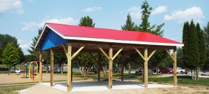 2014 Donation of Perth Splash Pad Shelter