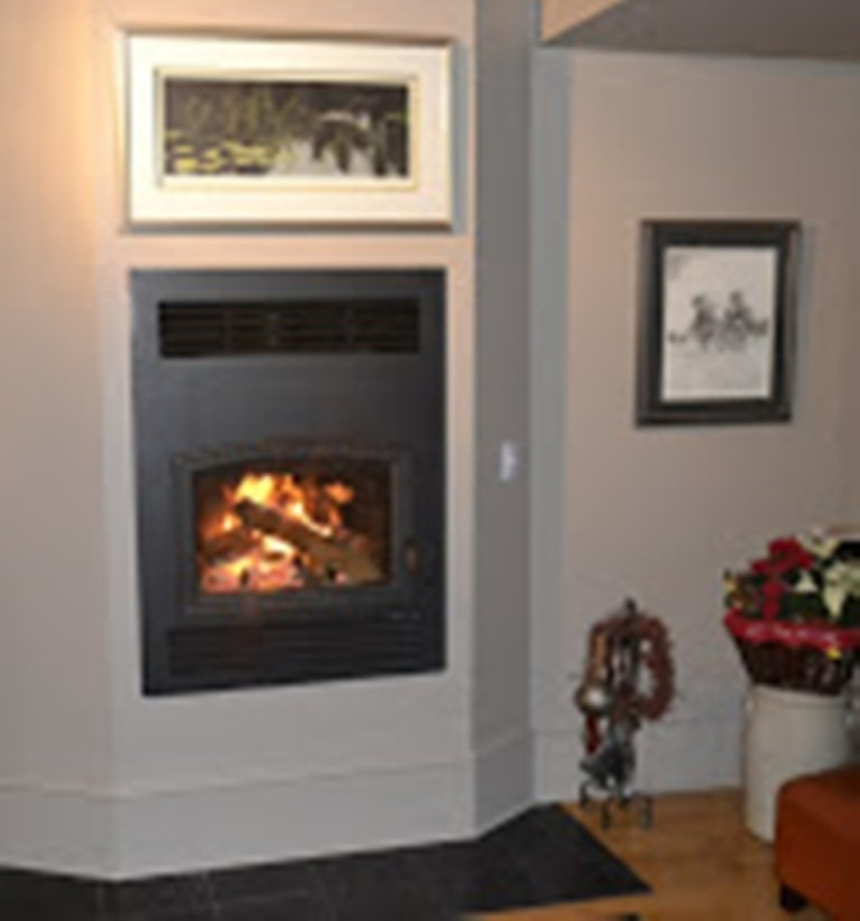 RSF Opel Wood Burning Fireplace With Custom Finish – Embers